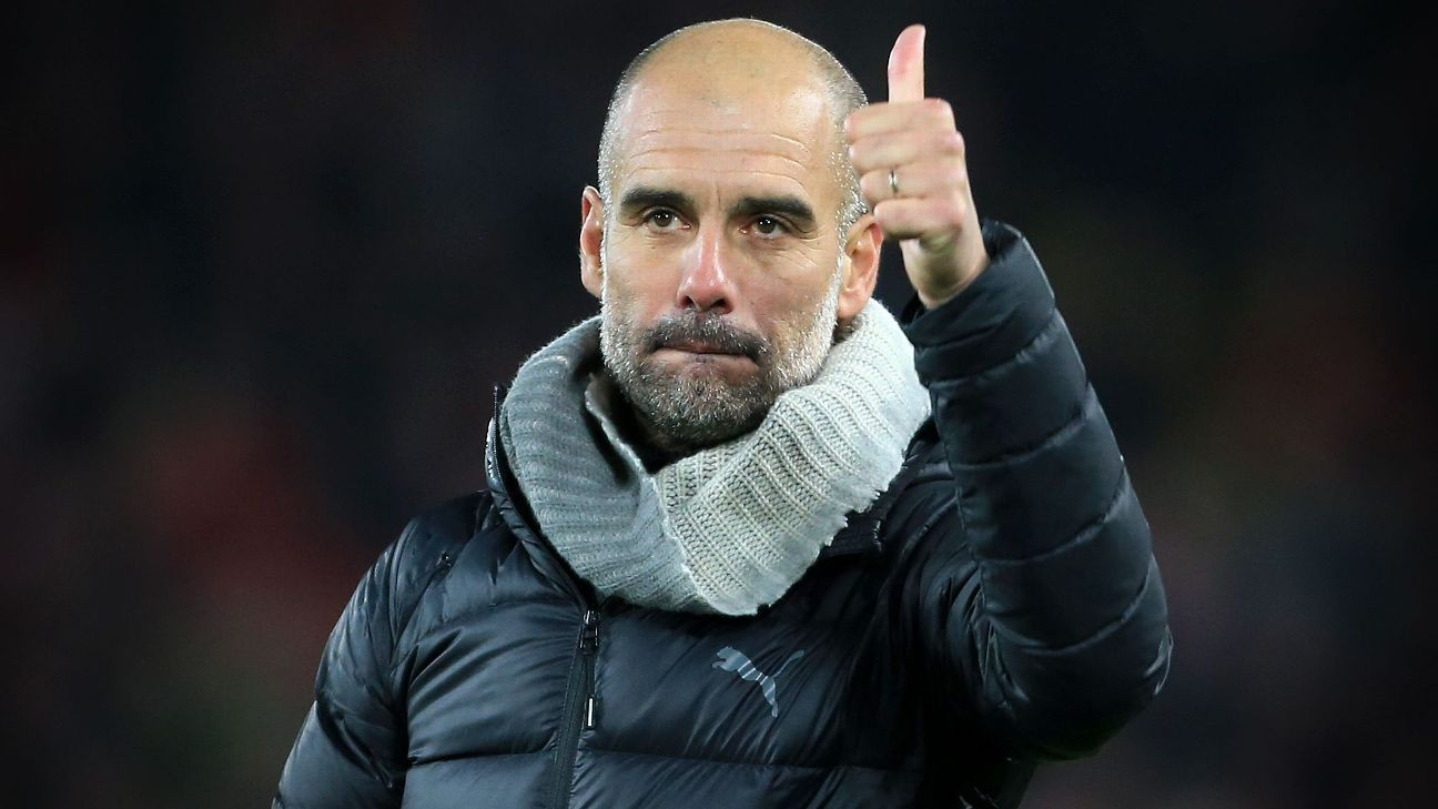 Manchester City won't make January signings - Pep Guardiola