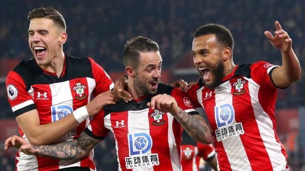 """Résultat de recherche d'images pour """"Southampton 2:1 Norwich City"""""""