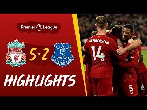 Liverpool 5-2 Everton   Five-star Reds win Merseyside derby   Highlights