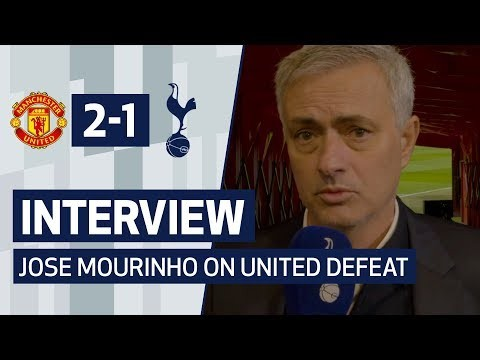 INTERVIEW | JOSE MOURINHO ON UNITED DEFEAT | Manchester United 2-1 Spurs