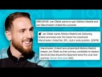 JAN OBLAK REACTS TO MANCHESTER UNITED TRANSFER RUMOURS!   #Unfiltered