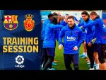 See how the team congratulated Messi for his Ballon d'Or