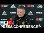 Manager's Press Conference | Manchester City v Manchester United | Premier League