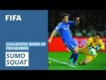 Sumo squat [Goalkeeper Warm-Up Programme]