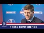 PRESS CONFERENCE   Steven Gerrard   6 Dec 2019
