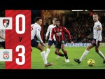 LIVERPOOL ATTACK TOO STRONG | AFC BOURNEMOUTH 0-3 LIVERPOOL