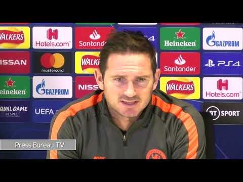 Chelsea 2 Lille 1 Frank Lampard reaction