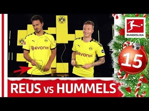 Marco Reus vs. Mats Hummels - Buzz Wire Challenge - Bundesliga 2019 Advent Calendar 15