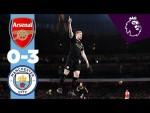 ARSENAL 0-3 CITY HIGHLIGHTS | De Bruyne & Sterling Goals