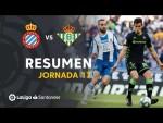 Resumen de RCD Espanyol vs Real Betis (2-2)