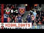 HIGHLIGHTS: Southampton 1-0 West Ham United | Premier League