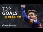 TOP Goles FC Barcelona #ElClásico 2009 - 2019