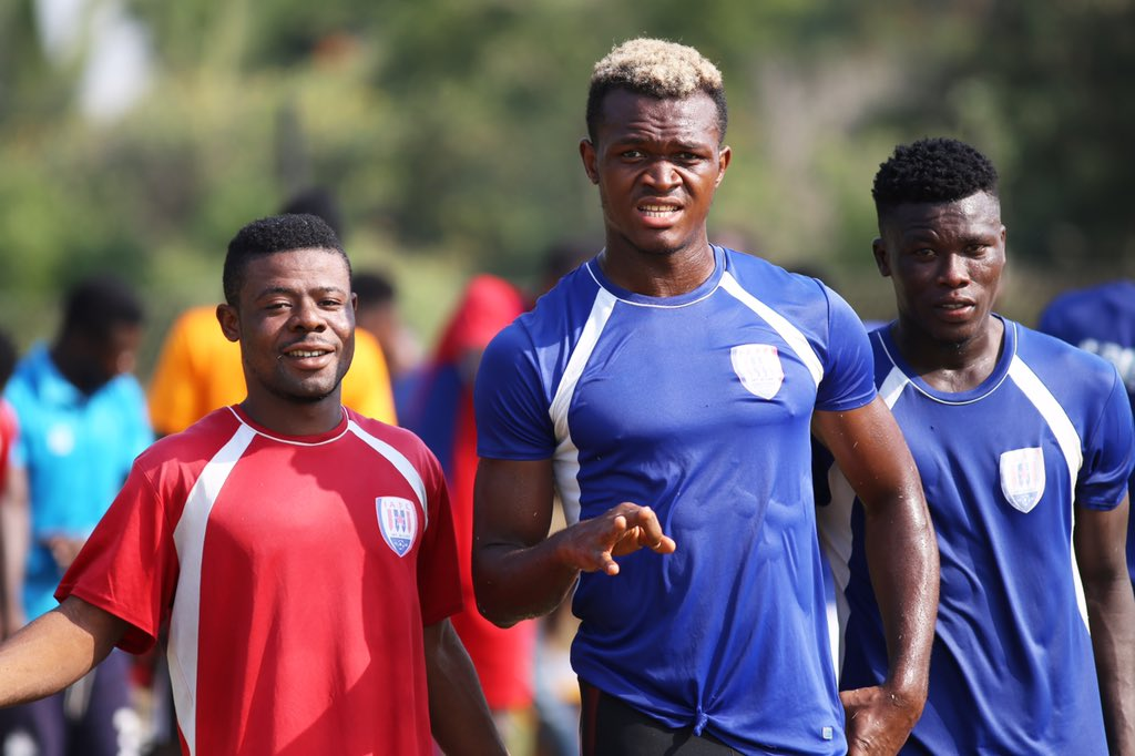PHOTOS: Inter Allies train on Boxing Day ahead of 2019/20 GPL kick