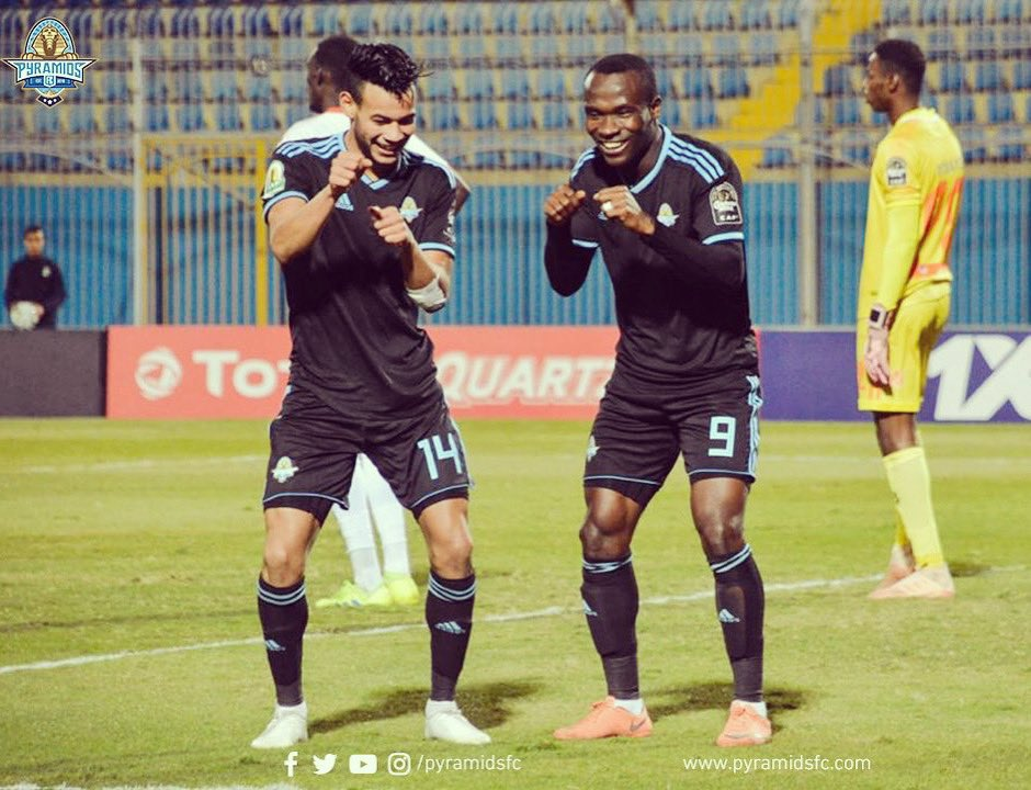 Ghana's John Antwi on target as FC Pyramids tame Al Masry in CAF Confederation Cup