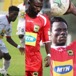 Asante Kotoko confirm departure of Jordan, Boahene and Sefah