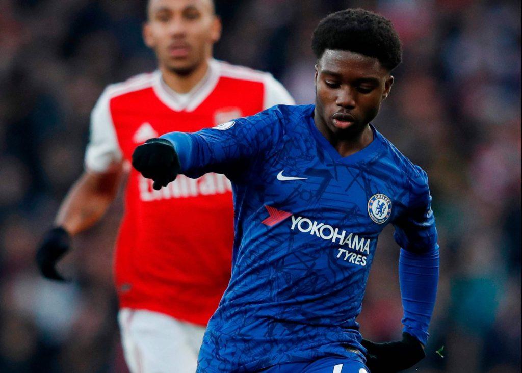 Ghanaian progidy Tariq Lamptey makes Chelsea debut in Arsenal win, Lampard praises