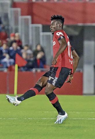 VIDEO: Ghana's Baba Mohammed gives away penalty as Real Mallorca stumble against Sevilla