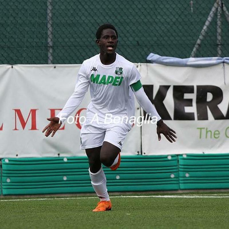 Sassuolo U19 star Bryan Oddei scores second goal in Primavera