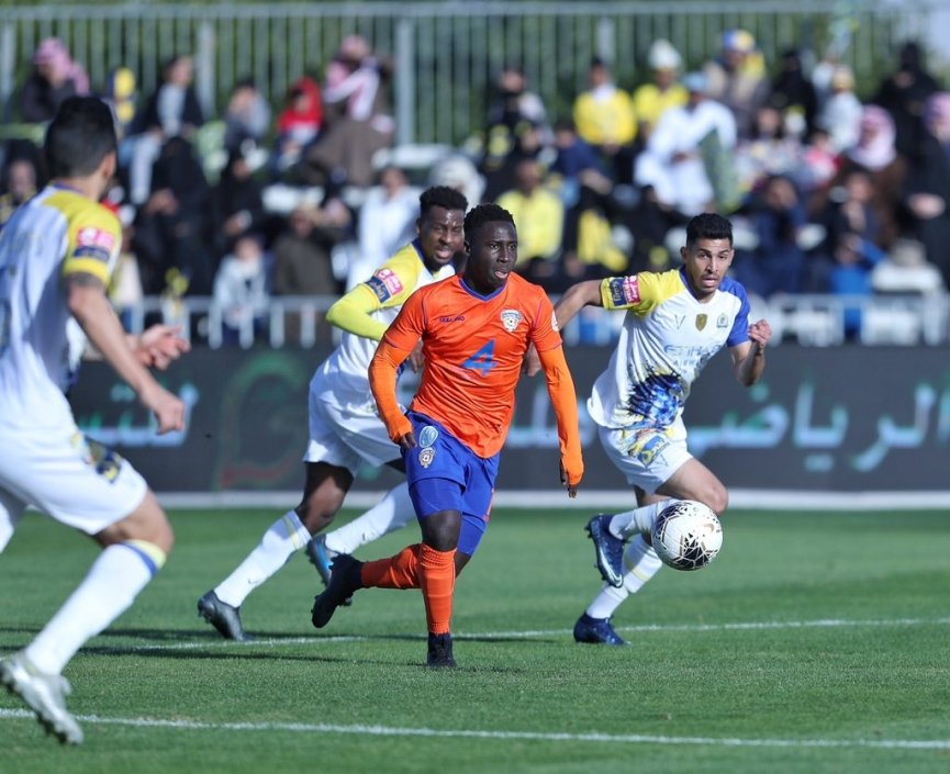 VIDEO: Samuel Owusu provides sleek assist and sent off in Al Fayha loss against Al Nassr