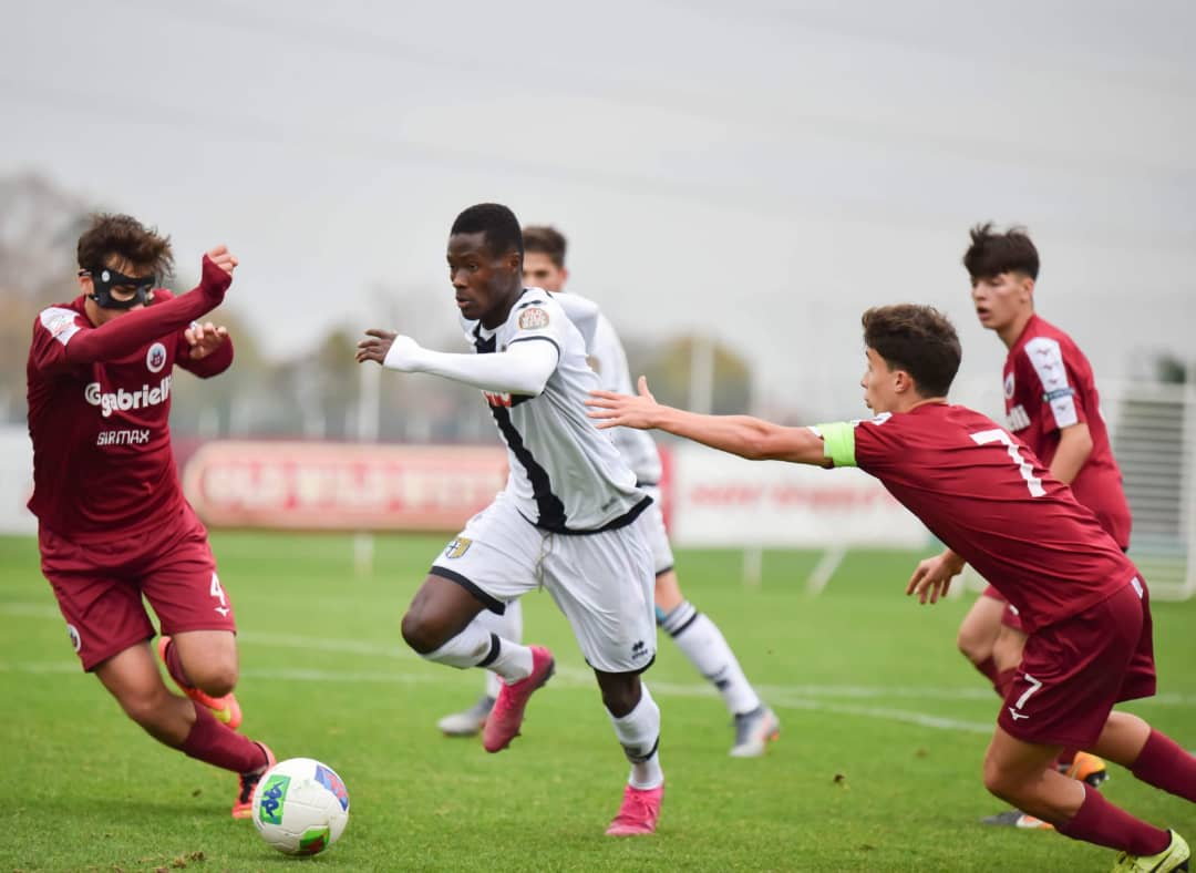 Ahmed Awuah scores high ratings in Primavera game against SPAL