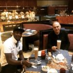 Asamoah Gyan delighted to meet former Ghana coach Avram Grant after two years
