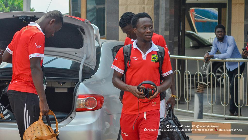 Asante Kotoko leave for Cape Coast and Takoradi for double header friendlies