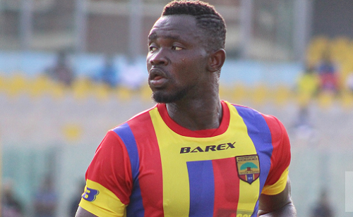 Vincent Atinga sends goodwill message to Hearts ahead of season opener