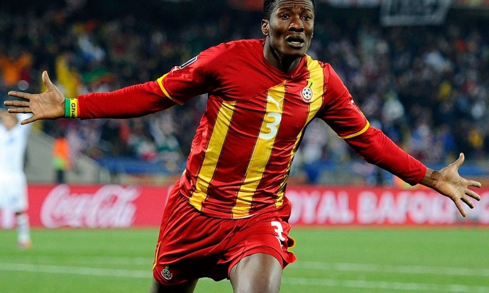 Ghana legend Asamoah Gyan reveals interest in becoming a politician