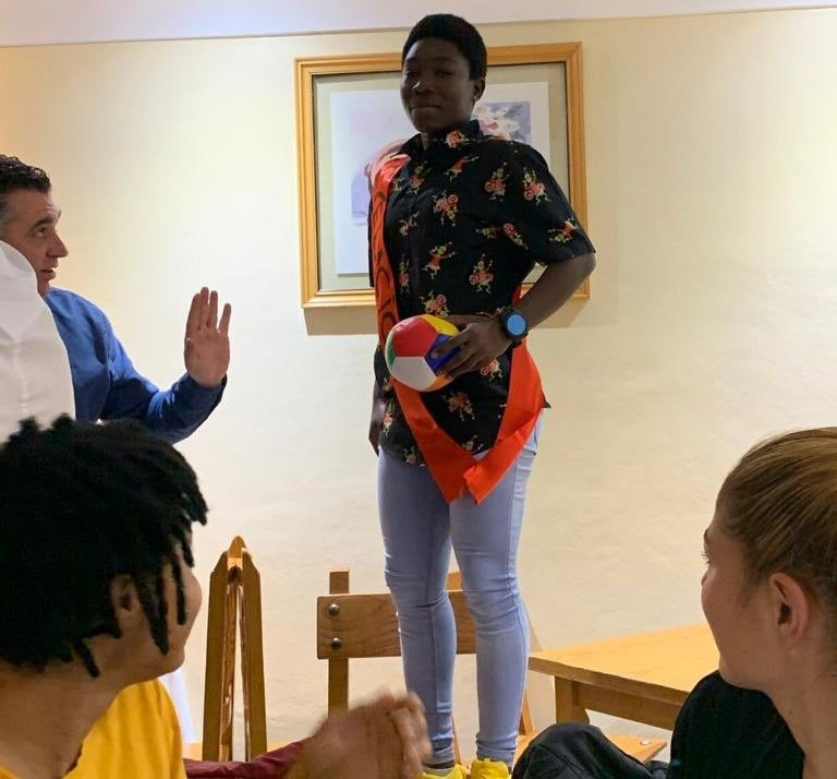 VIDEO: Grace Asantewaa named the 2019 MVP by Spanish side EDF Logrono