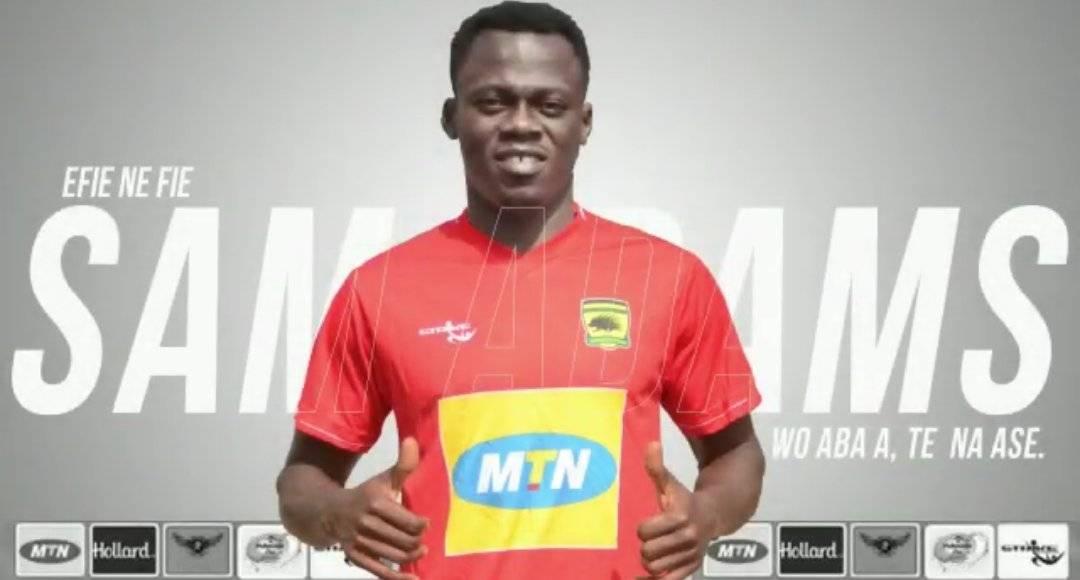 OFFICIAL: Sam Adams joins Asante Kotoko - Ghana Latest Football News, Live  Scores, Results - GHANAsoccernet