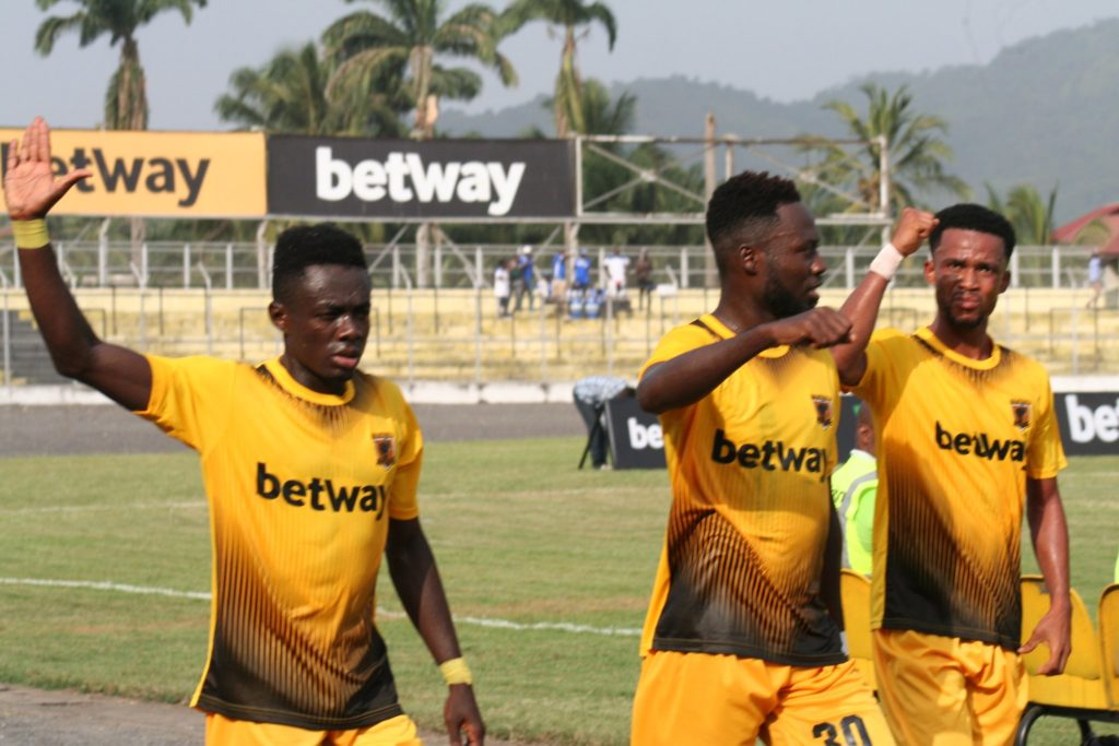 VIDEO: Watch all the goals as AshantiGold thrash Great Olympics