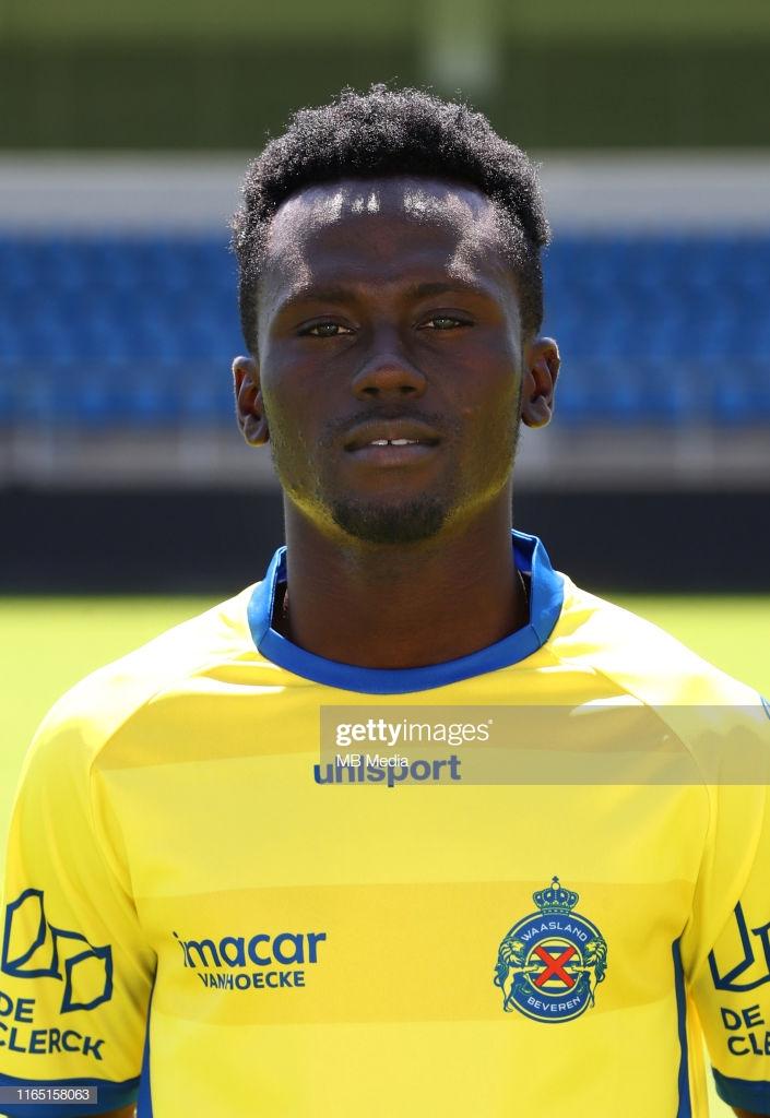 Waasland-Beveren Ghanaian forward Eric Asomani suffers injury