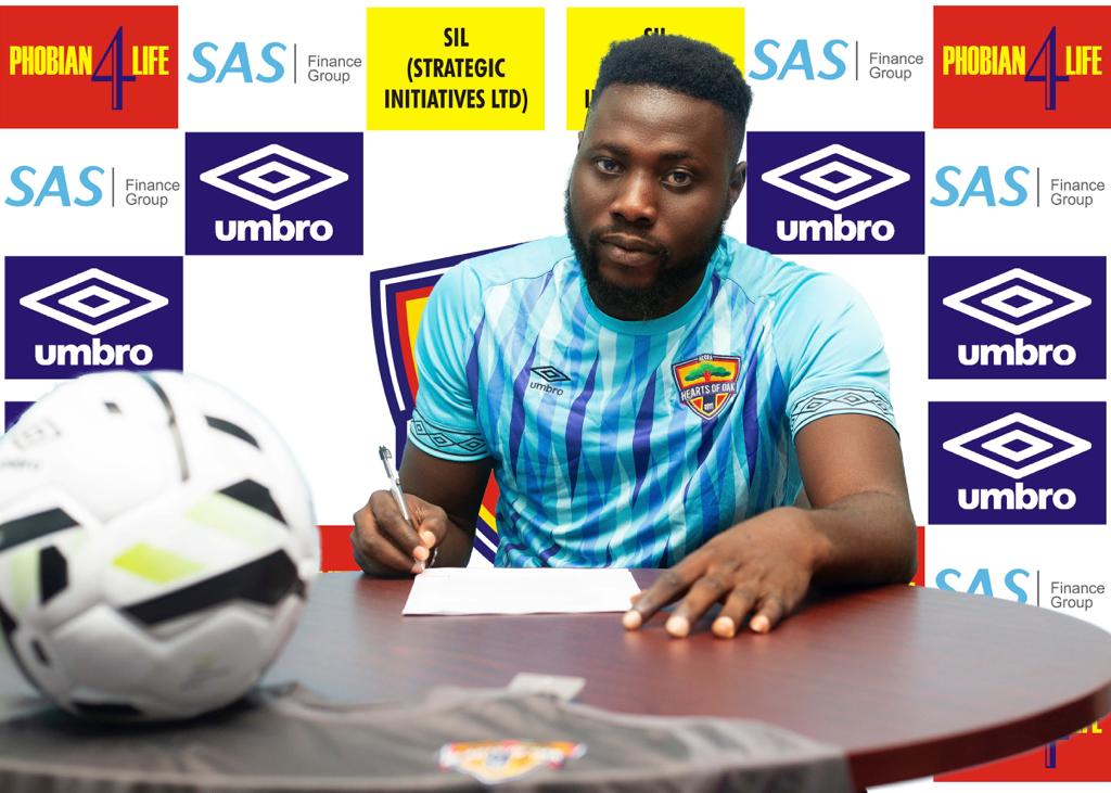 Hearts of Oak new signing Richard Attah: ''I have joined the biggest club in Africa''