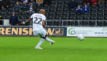 Swansea City manager declares transfer stance on two-goal hero André Ayew