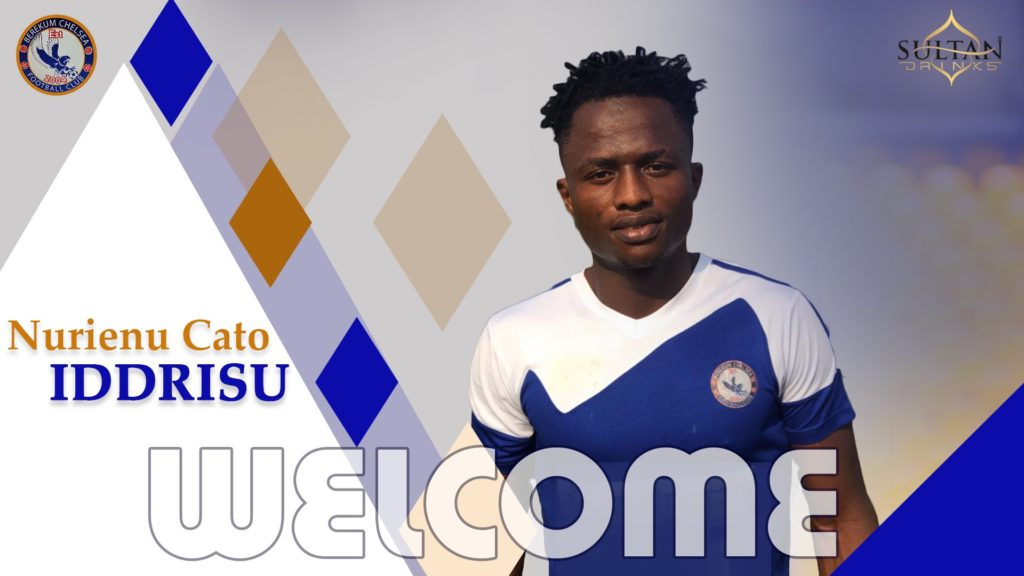 Berekum Chelsea snap up striker Nureini Cato Iddrissu from Nsoatrema FC