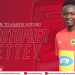Asante Kotoko first choice right back Christopher Nettey suspended for Bechem United clash