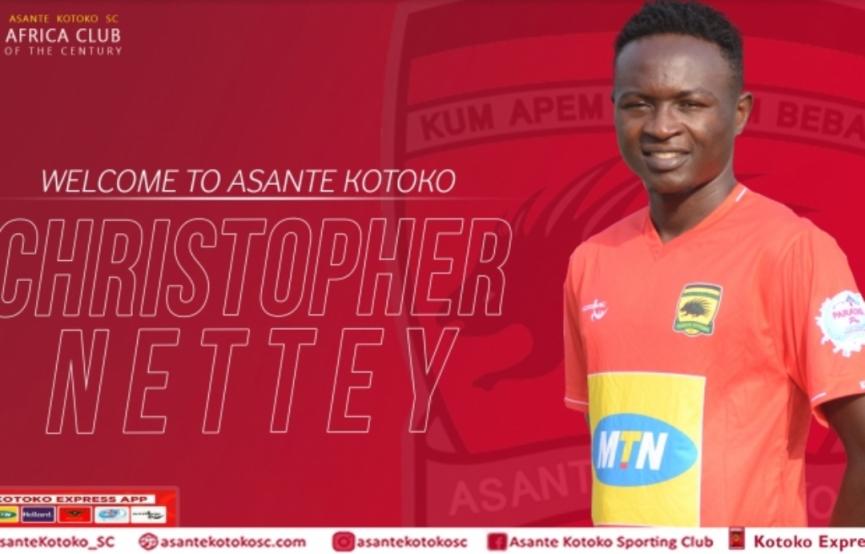 Asante Kotoko turn down transfer offer for Christopher Nettey