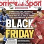 Italian daily pegging Lukaku vs Smalling as 'Black Friday' shows Italy is racist and proud