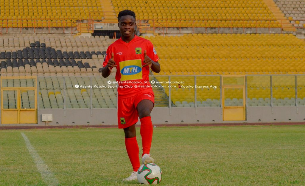 I'm patiently waiting for Black Stars call-up - Matthew Cudjoe