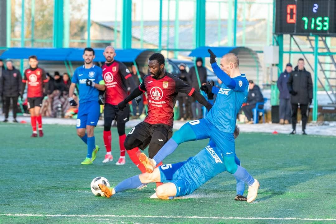 Ghanaian forward Dennis Tetteh secures 8th position for Slavia Mozyr