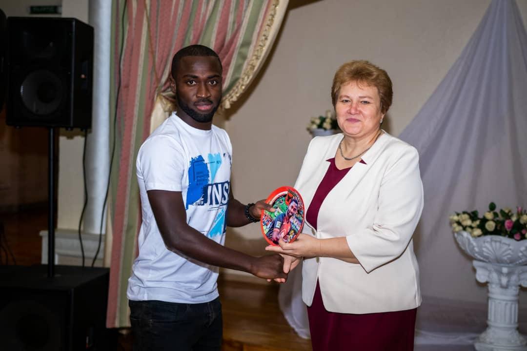 I always rely on Dennis Tetteh- Slavia Mozyr coach Mikhail Martinovich