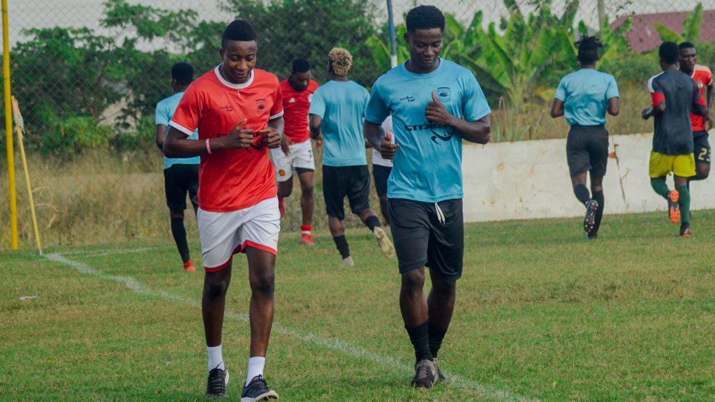 Kotoko duo Felix Annan and Evans Mensah start 'light' training ahead of new season