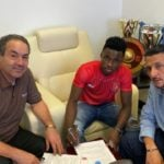 Ghana U23 winger Evans Mensah joins Qatari side Al Duhail on permanent contract from HJK Helsinki
