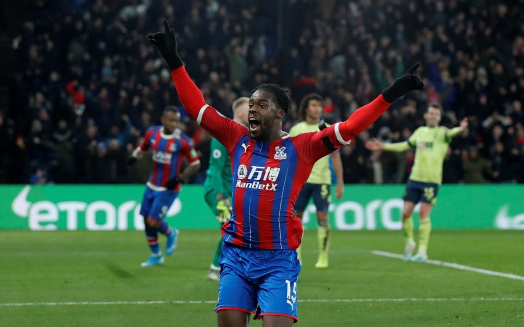 Ghana ace Jeff Schlupp scores winner to move ten-man Crystal Palace to fifth in EPL