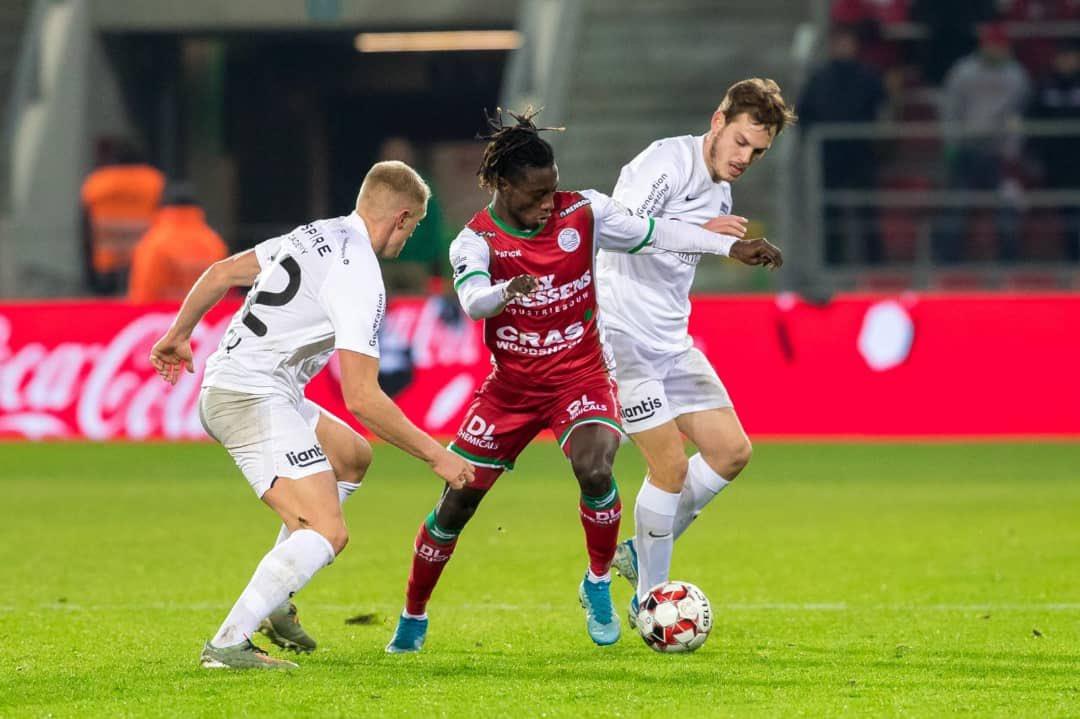Zulte Waregem defender Gideon Mensah delighted by 'important' win against KAS Eupen