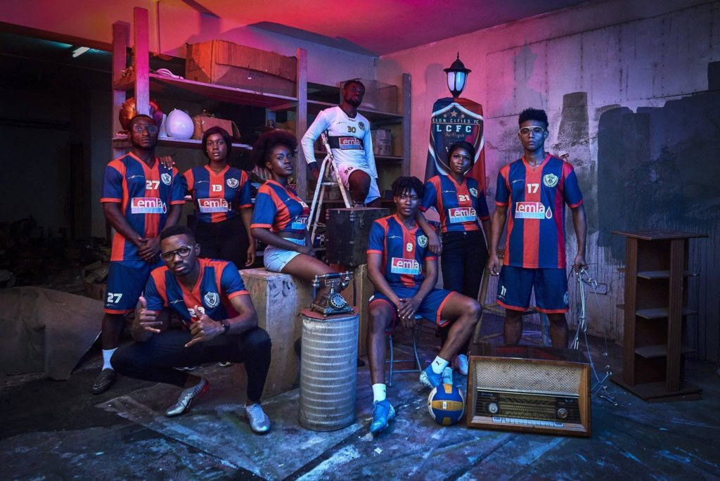 Legon Cities FC unveil jersey for 2019/20 season
