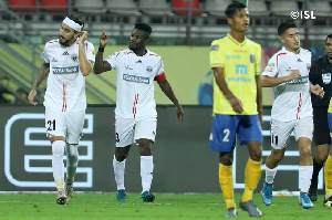 Asamoah Gyan captains NorthEast United in Kerala Blasters stalemate