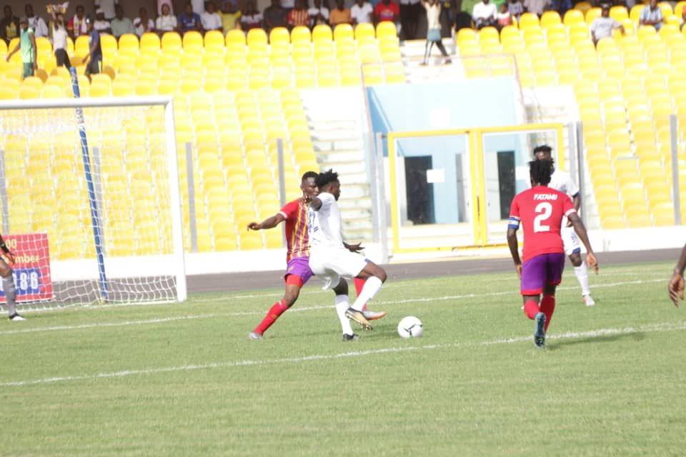 2019/20 Ghana Premier League: Week 1 Match Report- Hearts 0-1 Berekum Chelsea- Phobians suffer shocking defeat on opening day