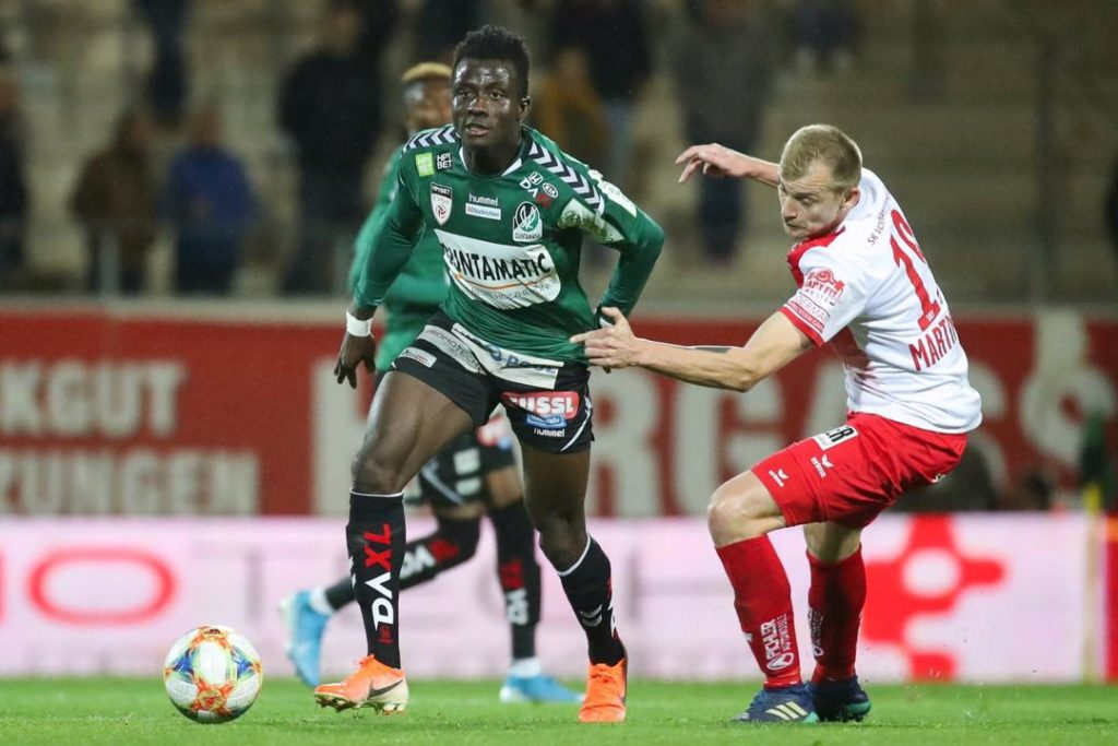 Ghana duo Acquah, Boateng spur SV Reid to top Austria league at halfway stage