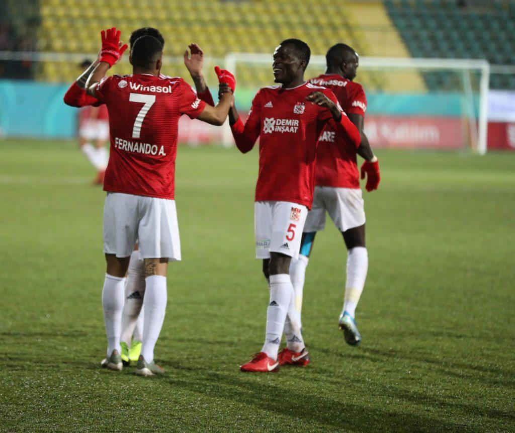 Isaac Cofie instrumental for Sivassporin Turkish Cup win over Erokspor